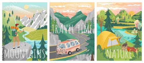 Stampa su Tela Travel posters