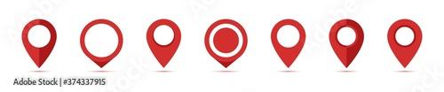Fotografia Location pin collection