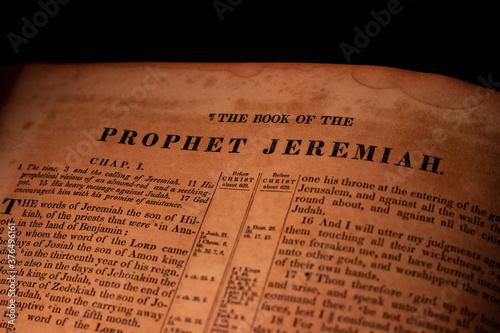 Carta da parati Jeremiah