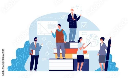 Fotografie, Obraz Teachers concept