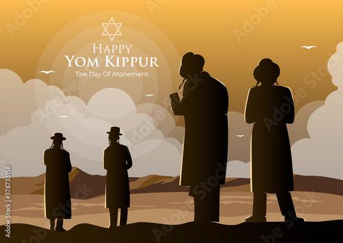 Fotografia Yom Kippur Celebration Concept