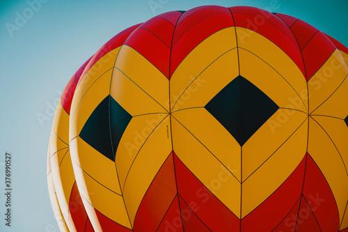 Hot Air Balloons in Summer Fotobehang