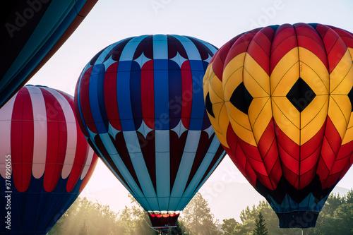 Photo Hot Air Balloons in Summer