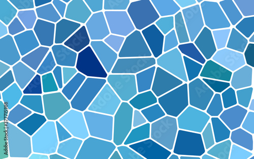 Fototapeta abstract vector stained-glass mosaic background