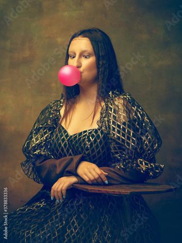 Tablou Canvas Bubble gum