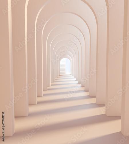 Valokuva Archway white architecture