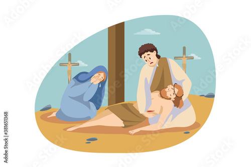 Obraz na płótnie Christianity, religion, Bible concept