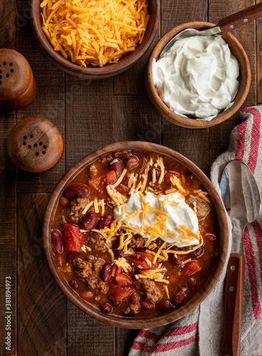 Slika na platnu Bowl of chili con carne