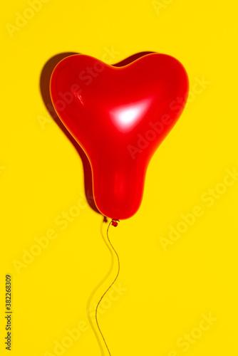heart-shaped balloon