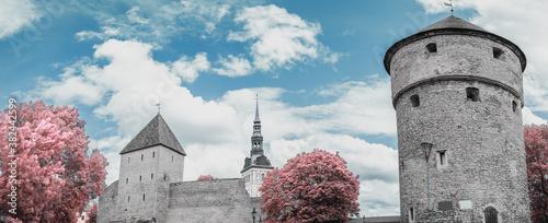 Photo Infrared photo. beautiful  photos of Tallinn
