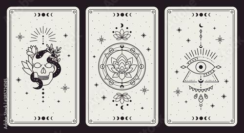 Fotografia Magic occult cards