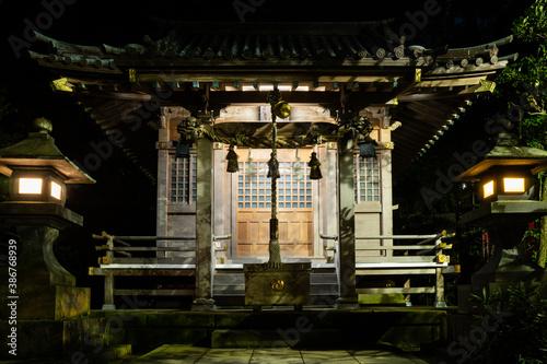 Fotografie, Obraz Beautiful Japanese shrine entrance.