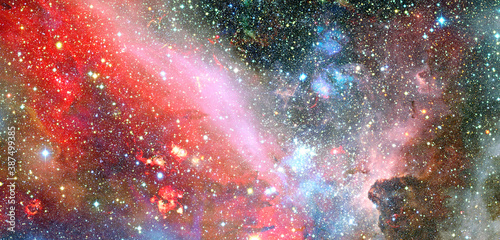 Obraz na plátne Galaxy stars. Elements of this image furnished by NASA