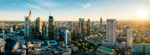 Fotografering Frankfurt am Main Cityscape