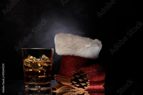 Fototapeta Whiskey im Glas