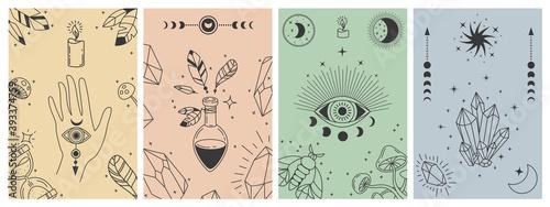 Tela Mystical boho posters