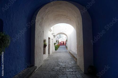 Fotografia monastery in Arequipa, South America