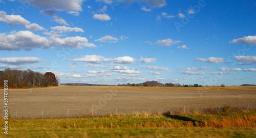 Obraz na plátně Agricultural Field, Lancaster, Ohio