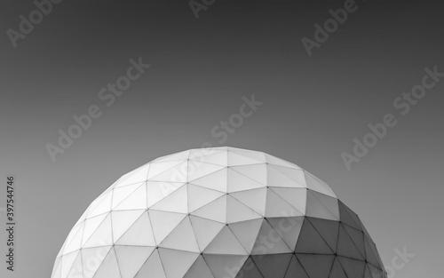 PVC geodesic dome in park, Tehran Tapéta, Fotótapéta