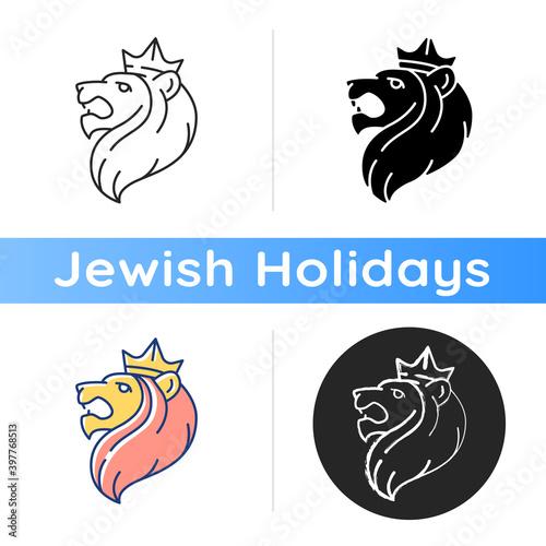 Wallpaper Mural Judah Lion icon