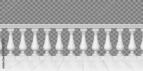 Fotomural Realistic balustrade
