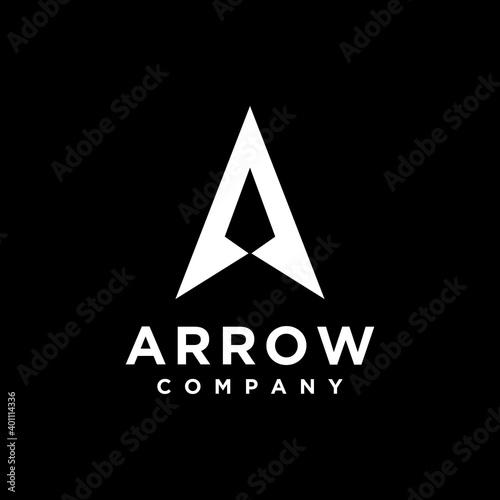 Wallpaper Mural Initial Letter A Arrow with Arrowhead for Archer Archery Outdoor Apparel Gear Hu