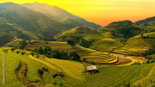 Fotografie, Obraz Scenic View Of Rural Landscape Against Sky