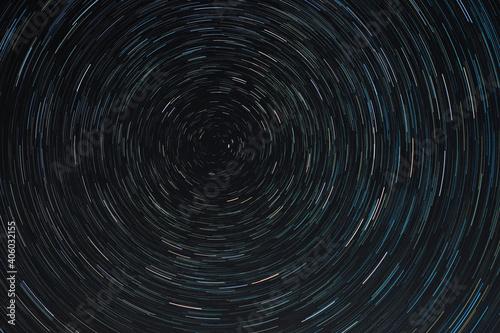 Wallpaper Mural Full Frame Shot Of Star Trails In Sky At Night