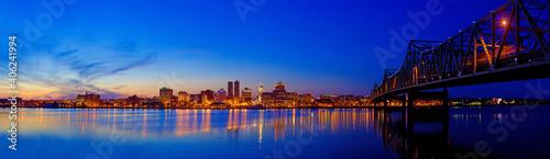 Fotografia Peoria Night Panorama 2