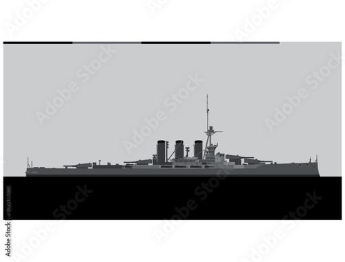 Stampa su Tela HMS Tiger