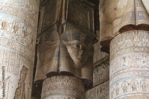 Fotografie, Tablou The Hathor temple of Dendera, Egypt