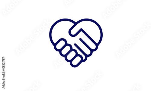 Photo Charity icon vector design