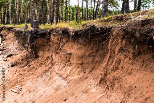 coastal erosion Fototapet