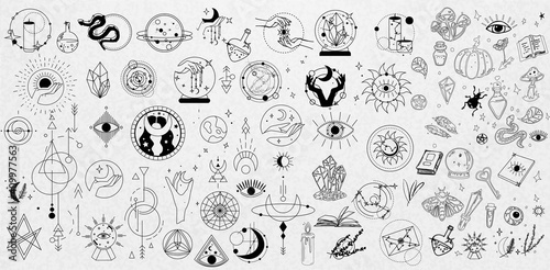 Photo Collection of Mystical and Astrology objects