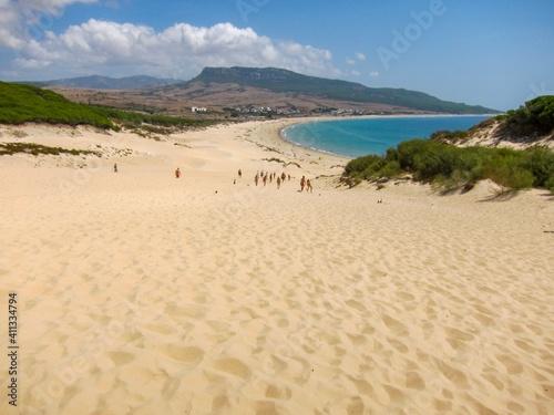 Stampa su Tela Scenic View Of Beach Against Sky