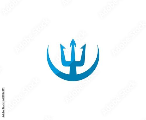 Fotografia Poseidon logo