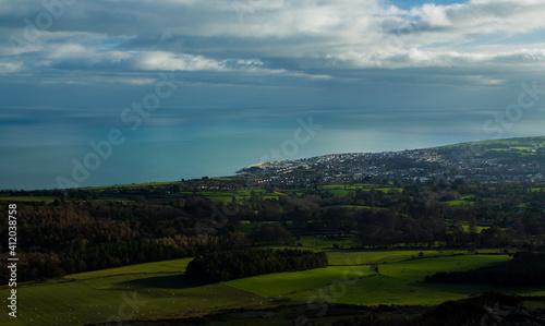 Fotografia, Obraz Scenic View Of Agricultural Field Against Sky