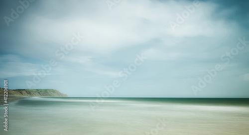 Stampa su Tela Scenic View Of Sea Against Sky