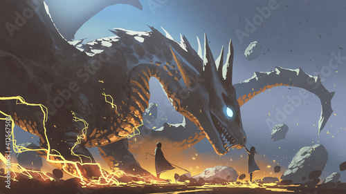 the lord and the faithful dragon