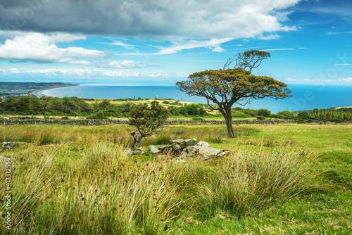 Fotografia Park Mooar over Ramsey, Isle of Man