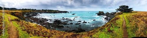 Fényképezés Panoramic View Of Sea Against Sky