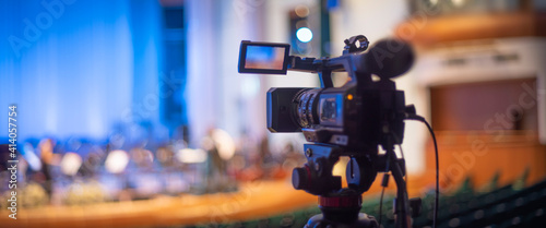 Fotografia online stream of a concert at the Philharmonic