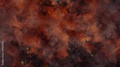 Obraz na płótnie fire inferno in hell background