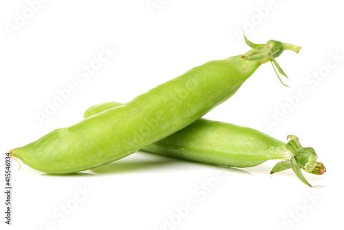 Carta da parati Fresh soybean with pod and leaf