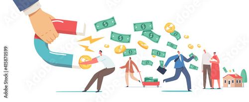 Obraz na płótnie Debt Collection Concept
