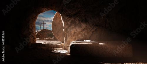 Foto Crucifixion and Resurrection