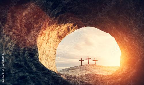 Fotografie, Obraz Tomb of Jesus Christ