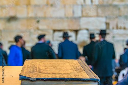 Photo Wailing Wall, Old Jerusalem