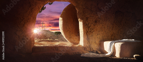 Fotografija Crucifixion and Resurrection