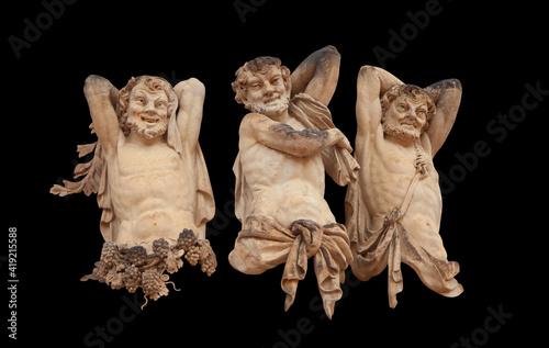 Fotografia Antique statue of Faunus (Satires)